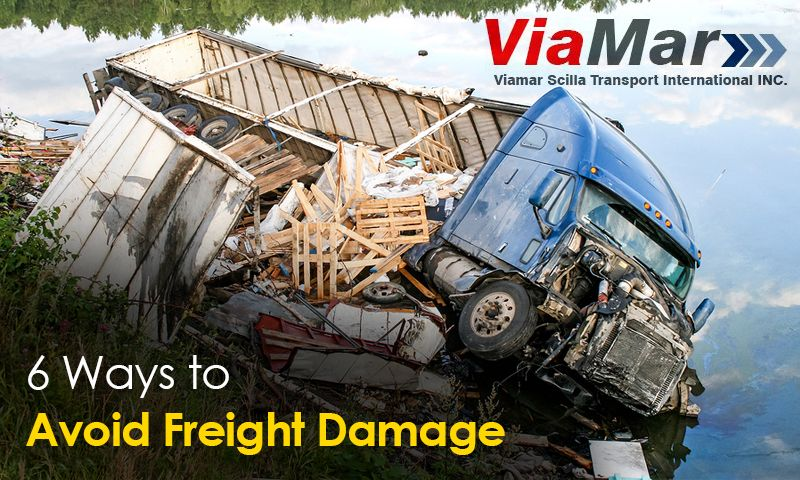 6 Ways to Avoid Freight Damage